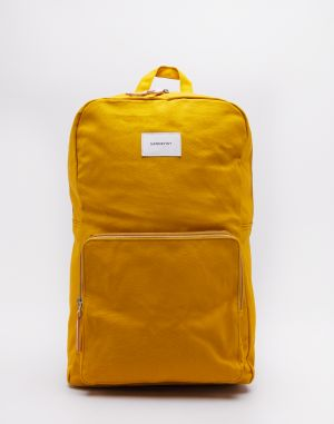 Sandqvist Kim Yellow with Natural Leather Malé (do 20 litrov)