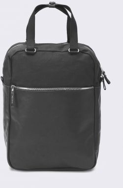 Qwstion Simple Pack Black Leather Canvas Malé (do 20 litrov)