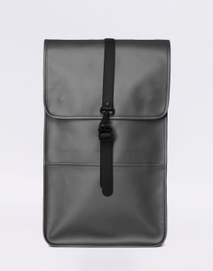 Rains Backpack 15 Metallic Charcoal Malé (do 20 litrov)