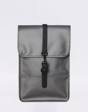 Rains Backpack Mini 15 Metallic Charcoal Malé (do 20 litrov)