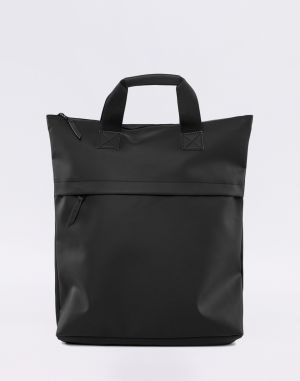 Rains Tote Backpack 01 Black Malé (do 20 litrov)