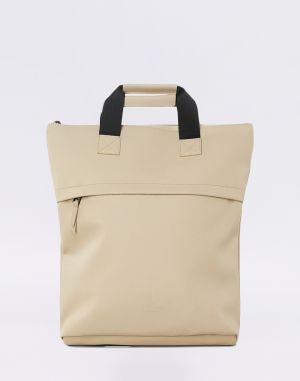Rains Tote Backpack 35 Beige Malé (do 20 litrov)