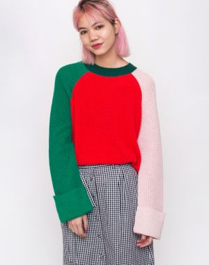 Armedangels Daliaa Colorblock College Green