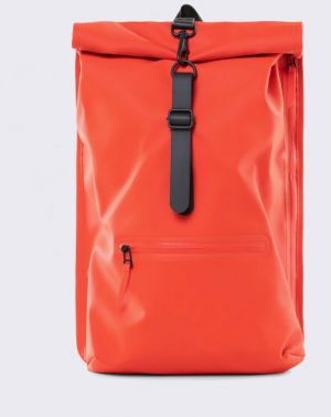 Rains Roll Top Rucksack 08 Red Malé (do 20 litrov)