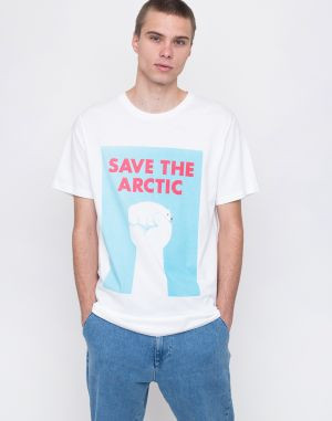 Dedicated Save The Arctic White