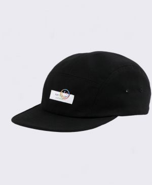 Rotholz Label 5-Panel Cap Smiley Black/Colour