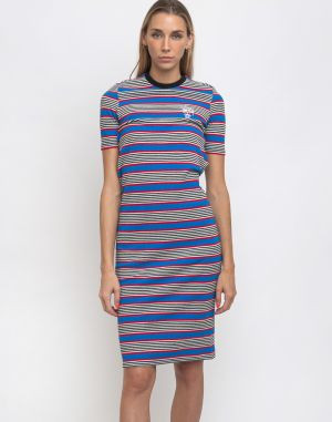 Stüssy Selma Stripe Dress Blue