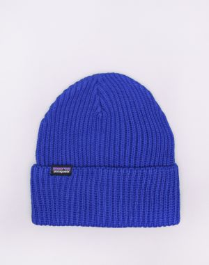 Patagonia Fishermans Rolled Beanie Cobalt Blue