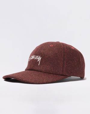 Stüssy Suiting Low Pro Cap light brown