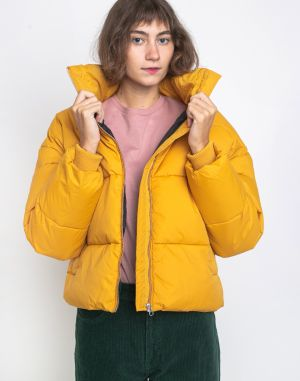Dr. Denim Skylar Puffer Jacket Gold Digger