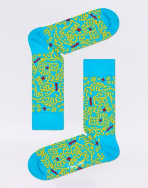 Happy Socks Keith Haring All Over KEH01-6700