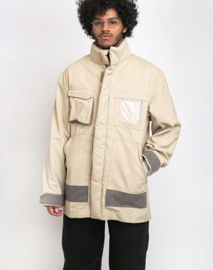 North Hill Military Parka Cream