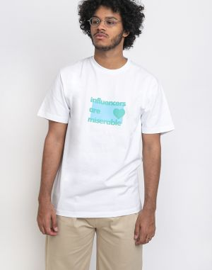 North Hill White Influencer Tee White