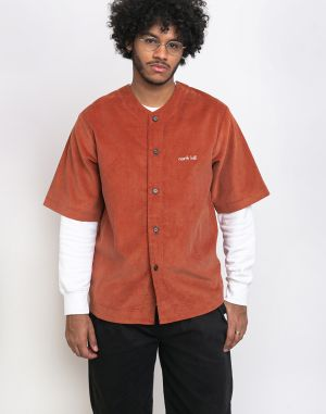 North Hill Brick Corduroy Shirt Brick