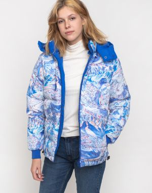 Dedicated Puffer Jacket Boden Ski Area Multi Color