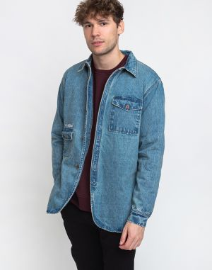 Han Kjøbenhavn Army Shirt Denim Heavy Stone Wash