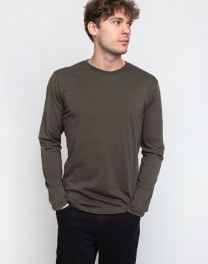 By Garment Makers The Tee LS 2643 Forrest Green