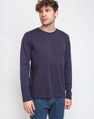 By Garment Makers The Tee LS 3090 Navy