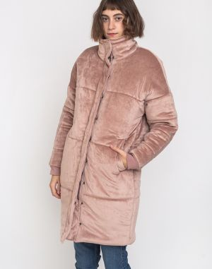 Native Youth The Bianca Longline Puffer Dusty Pink