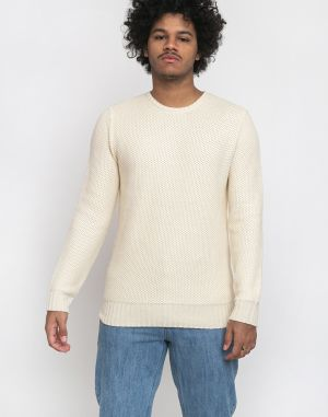 RVLT 6514 Heavy Knitted Sweater Offwhite