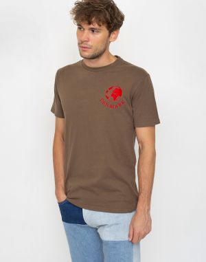 Han Kjøbenhavn Artwork Tee Faded Brown