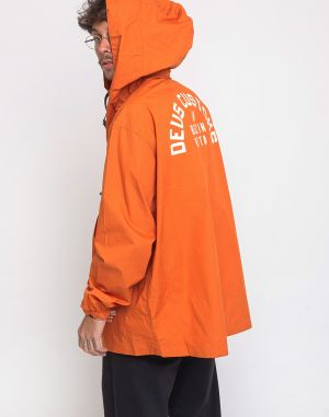 Deus Ex Machina Deckard Packable Anorak Harvest Orange