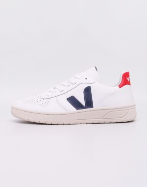 Veja V-10 Leather Extra White Nautico