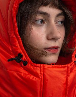 Loreak Hood Piumi Orange
