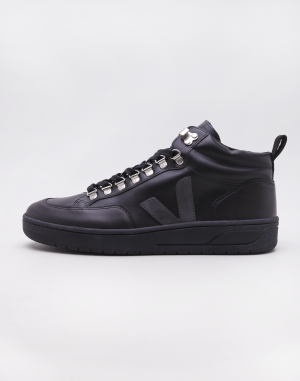 Veja Roraima Leather Black Grafite Black Sole