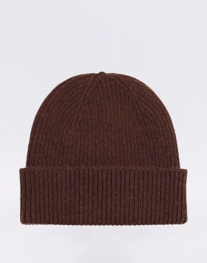 Colorful Standard Merino Wool Beanie Coffee Brown