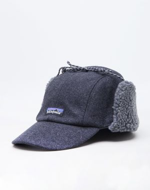 Patagonia Recycled Wool Ear Flap Clap Forge Grey