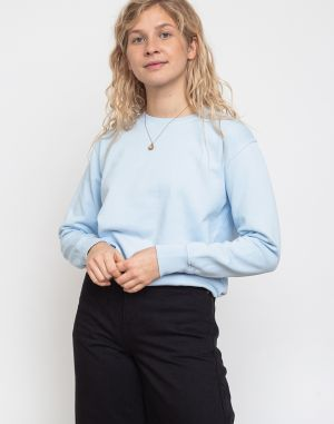 Colorful Standard Women Classic Organic Crew Polar Blue