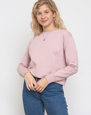 Colorful Standard Women Classic Organic Crew Faded Pink