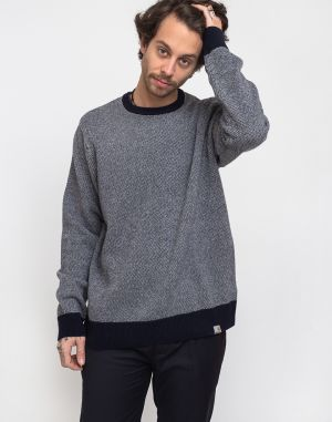 Carhartt WIP Spooner Sweater Dark Navy/Wax