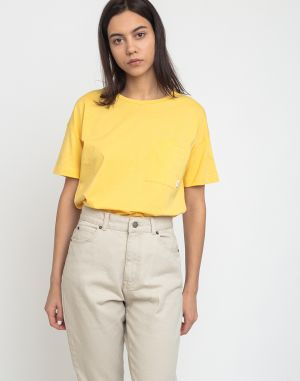 Makia Dusk T-Shirt Yellow