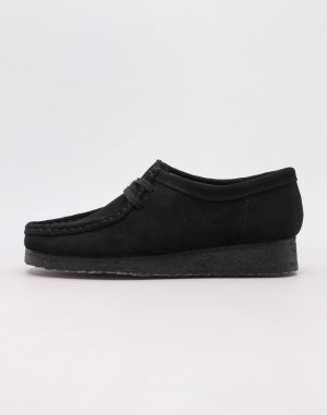 Clarks Originals Wallabee Black Sde