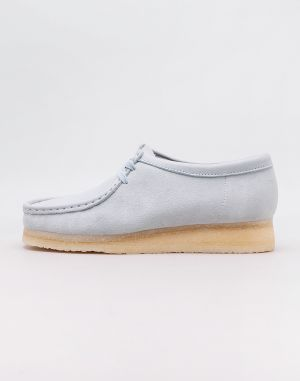 Clarks Originals Wallabee Light Blue Combi