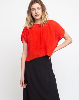 Edited Haven Blouse Red