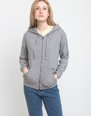 Patagonia W's Organic Cotton French Terry Hoody Feather Grey