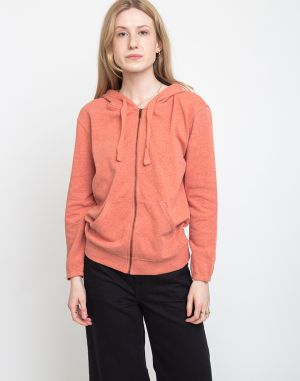 Patagonia W's Organic Cotton French Terry Hoody Mellow Melon