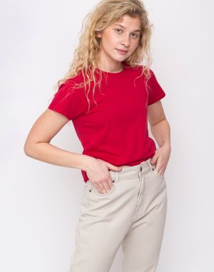 Colorful Standard Women Light Organic Tee Scarlet Red
