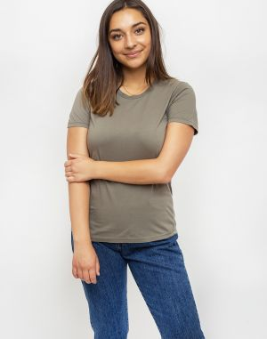 Colorful Standard Women Light Organic Tee Dusty Olive