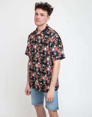 Lazy Oaf Nip It In The Bud Bowling Shirt Multi