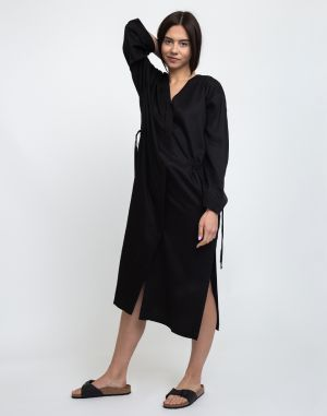 Makia Uma Coat Dress Black