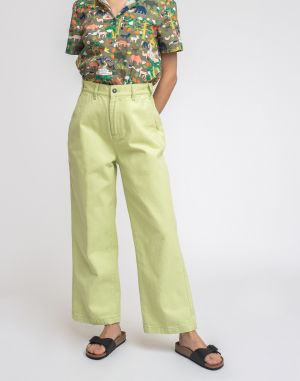 Obey Crush Pant Sea Green