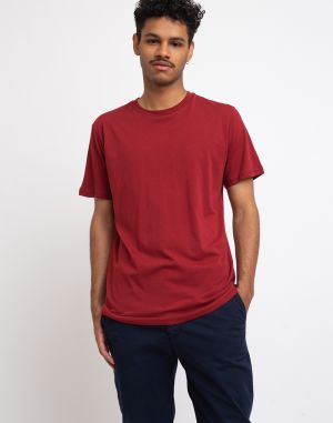 By Garment Makers The Organic Tee Merlot