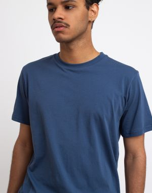 By Garment Makers The Organic Tee Blue