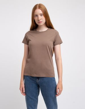 Colorful Standard Women Light Organic Tee Warm Taupe