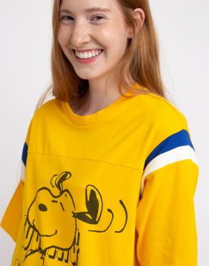 Levi's® Footbal Tee Jogging Snoopy Yellow/Orange