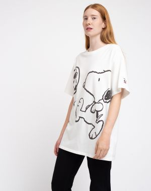 Levi's® Graphic Relaxed Oversized Snoopy Neutral